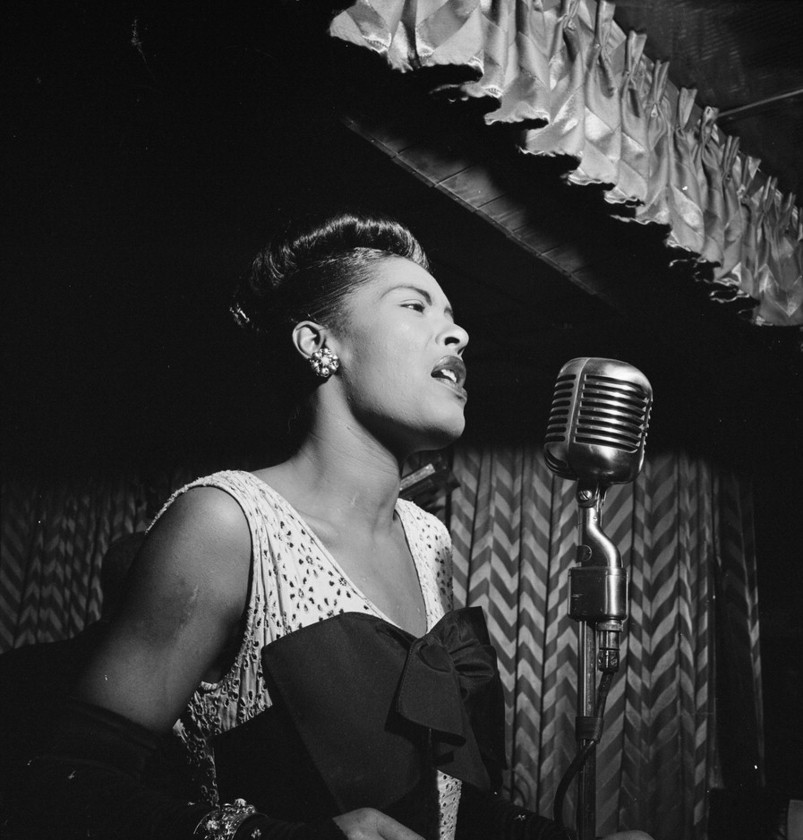 Billie Holiday (April 7, 1915 — July 17, 1959)